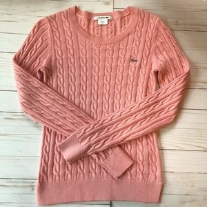Lacoste Pink Sweater